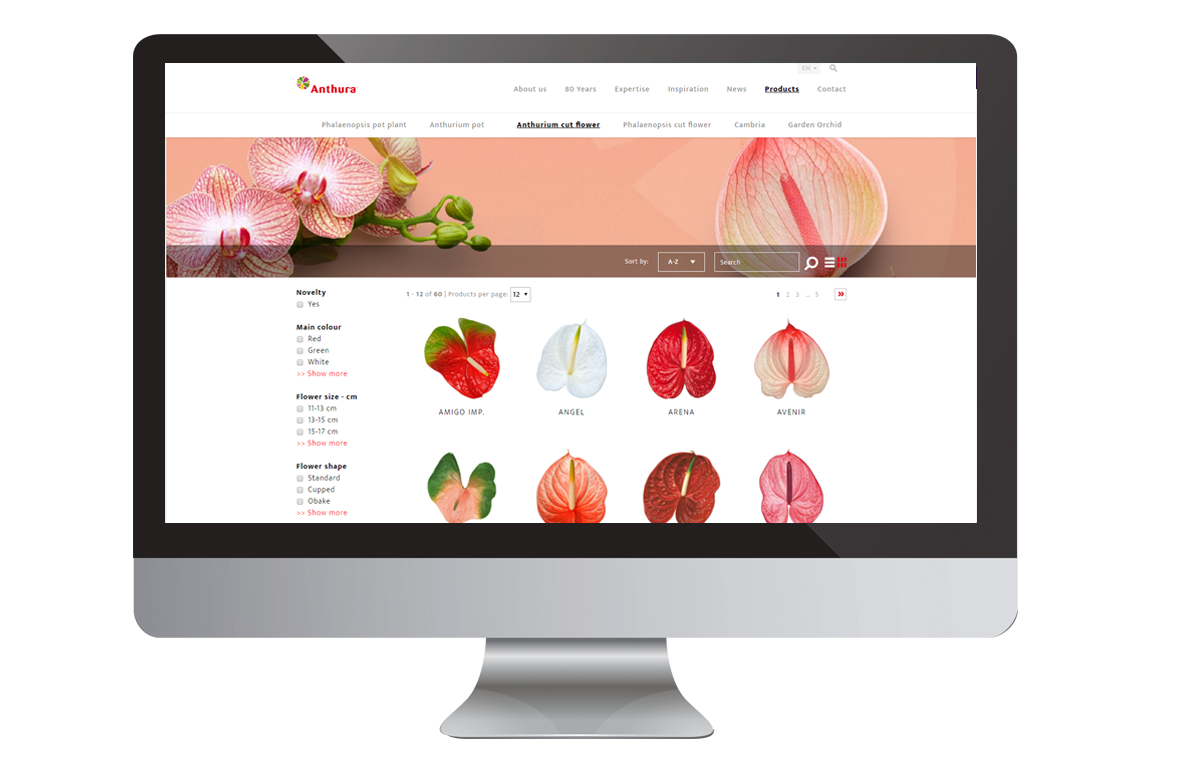 Show varieties breeding software
